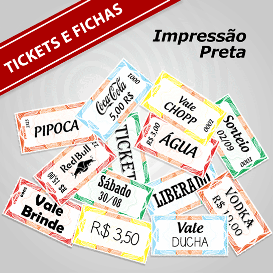 Tickets / Fichas